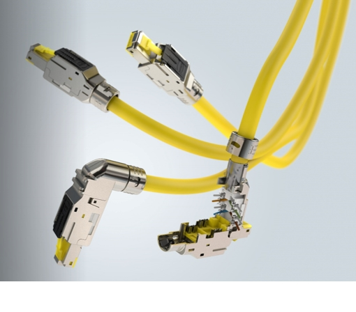 Industrial RJ45 multifeature