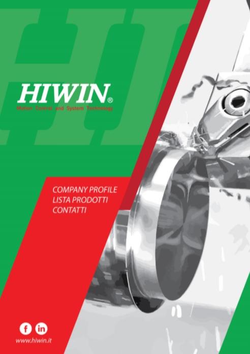 HIWIN Italy Company Profile e Lista Prodotti