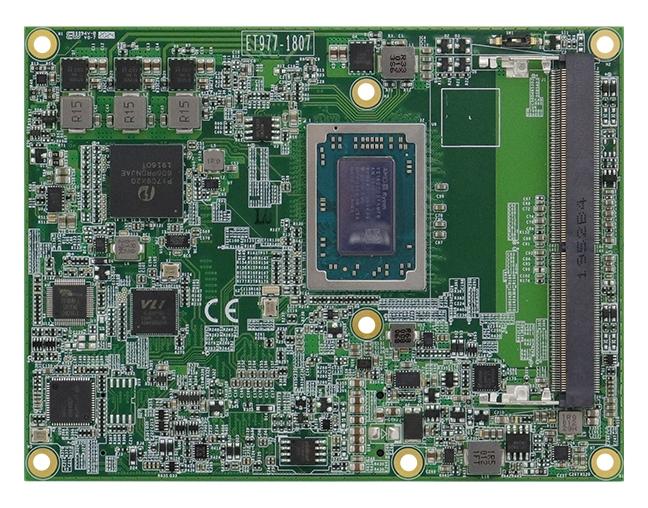 ET977 Modulo CPU AMD Ryzen ™ integrato serie V1000 / R1000 COM Express tipo 6 (R3.0