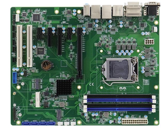 MB997 Scheda madre Intel® Xeon® E / Core ™ i7 / i5 / i3 di nona generazione ATX con Intel® C246 / Q370 PCH