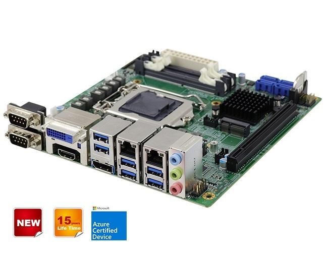 MI999 Scheda madre Intel® Xeon® W / Core ™ / Pentium® / Celeron® di decima generazione (precedentemente Comet Lake-S) Mini-ITX con Intel® W480E PCH