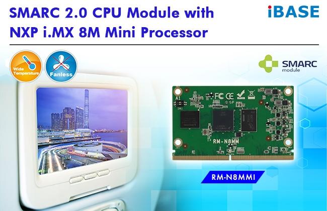 RM-N8MMI Modulo SMARC ™ 2.0 con NXP ARM® Cortex-A53 / Cortex-M4 i.MX 8M Mini Quad 1,8 GHz