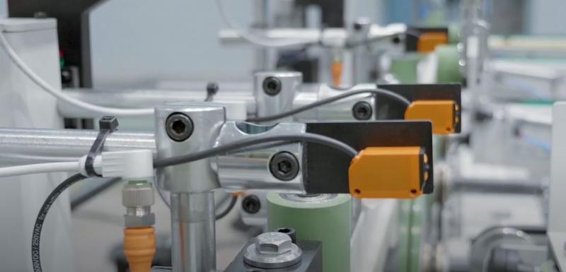 La qualità dei sensori di posizione di ifm convince Barberán