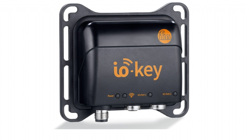io-key: gateway wireless IoT per la connessione al cloud di tutti i sensori IO-Link