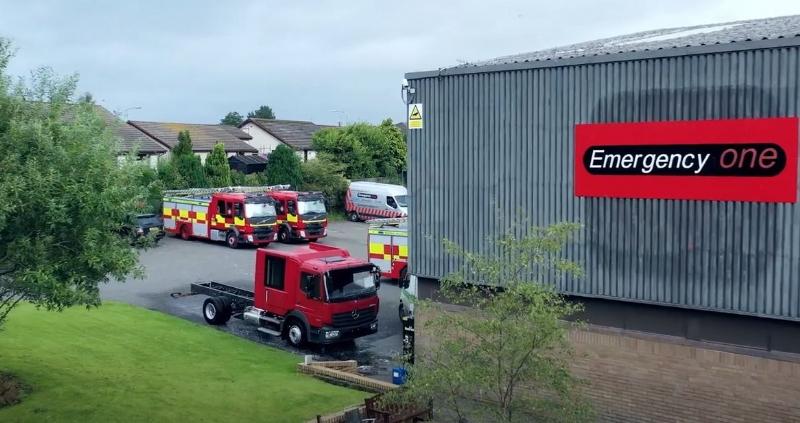 Emergency One produce affidabili veicoli di soccorso per il 90% dei servizi antincendio