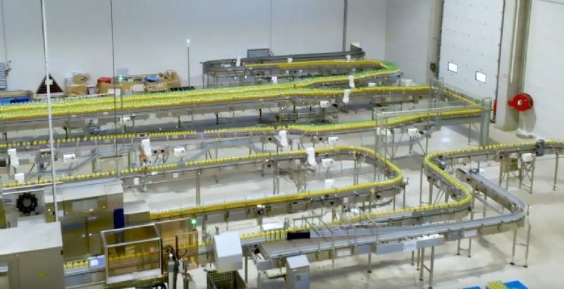 Refresco e Tetra Pak hanno scelto le soluzioni ifm per digitalizzare una nuova fabbrica