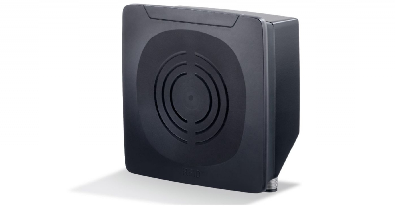 Sistema RFID UHF con antenna integrata e portata elevata