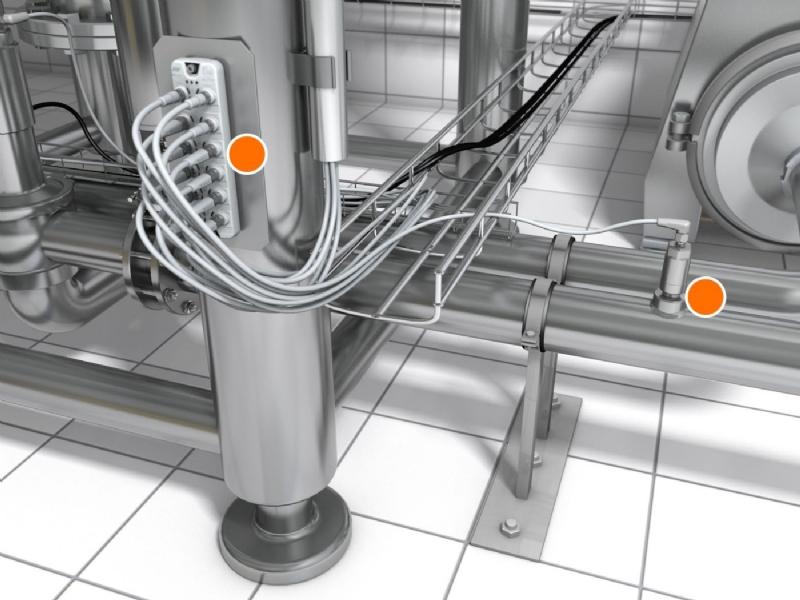 Ottimizzare la qualità del prodotto e risparmiare risorse grazie a nuovi conduttivimetri ed IO-Link