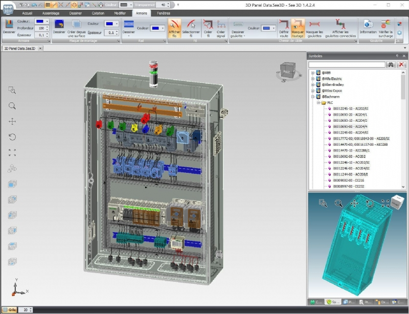 SEE Electrical 3d Panel+