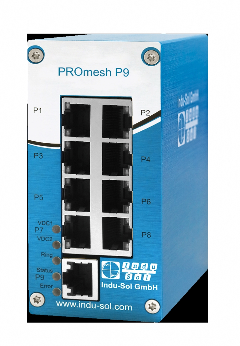 PROFINET/Ethernet Switch PROmesh P9