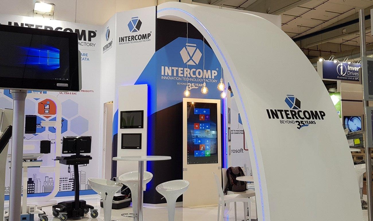 Overview delle soluzioni e dei contesti applicativi delle soluzioni PC panel e IT cart di Intercomp