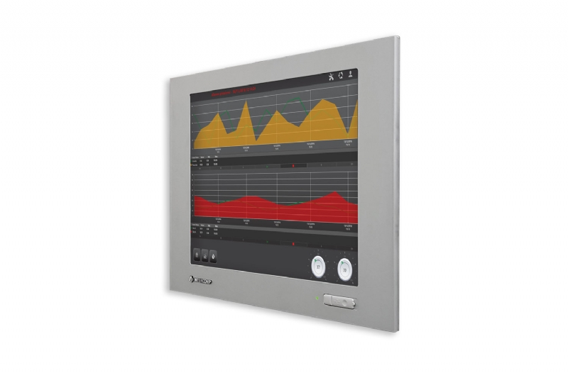 Monitor industriale/PC panel 6100