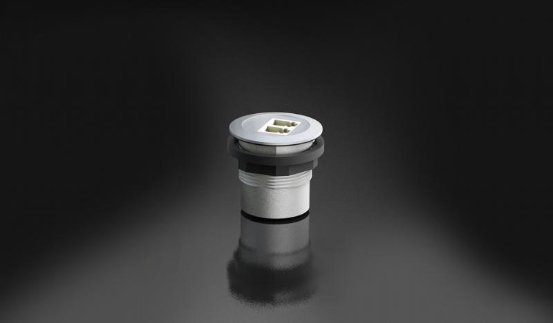 Prese da pannello con connessioni in fibra ottica