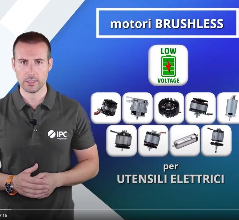 Presentazione linea di motori Brushless per ELETTROUTENSILI
