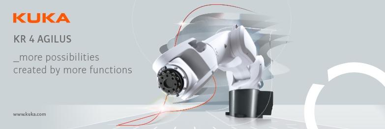 Nuovi robot piccoli e veloci: KR SCARA e KR4 AGILUS