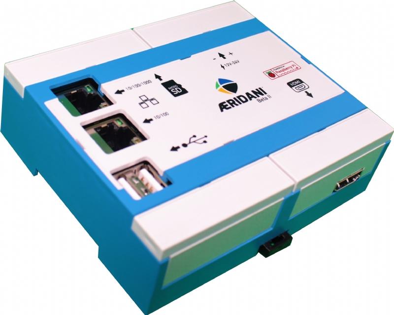 Aeridani Beta II: mother board per Raspberry PI CM.
