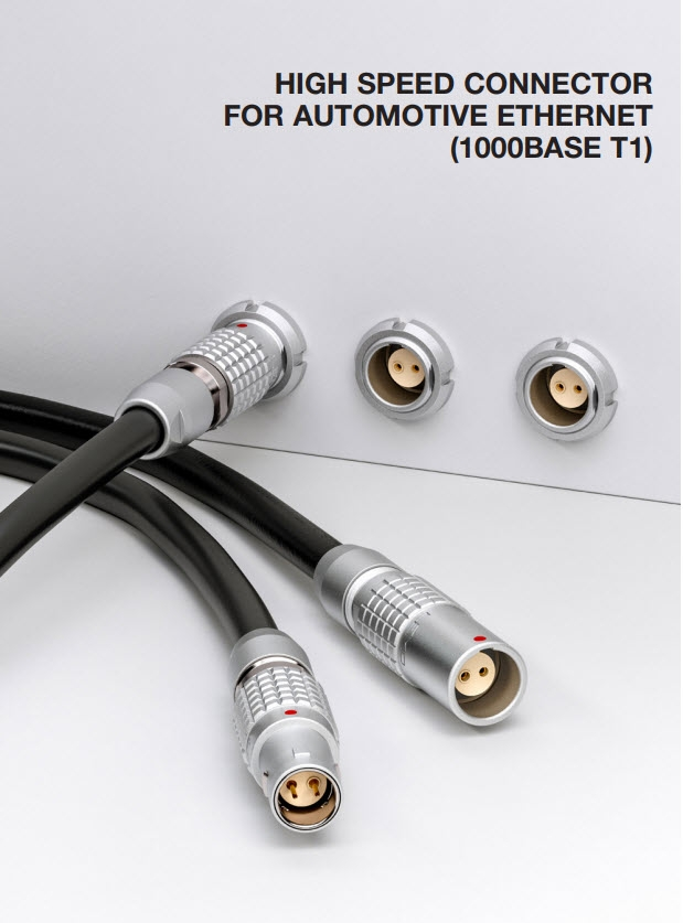 Push-Pull per reti SPE (Single Pair Ethernet) 1000-Base-T1