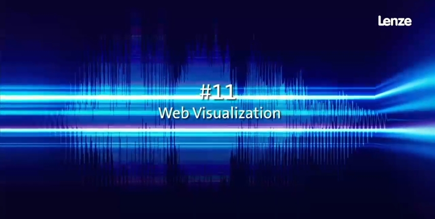 Lenze Live-Webcast | #11 Web Visualization
