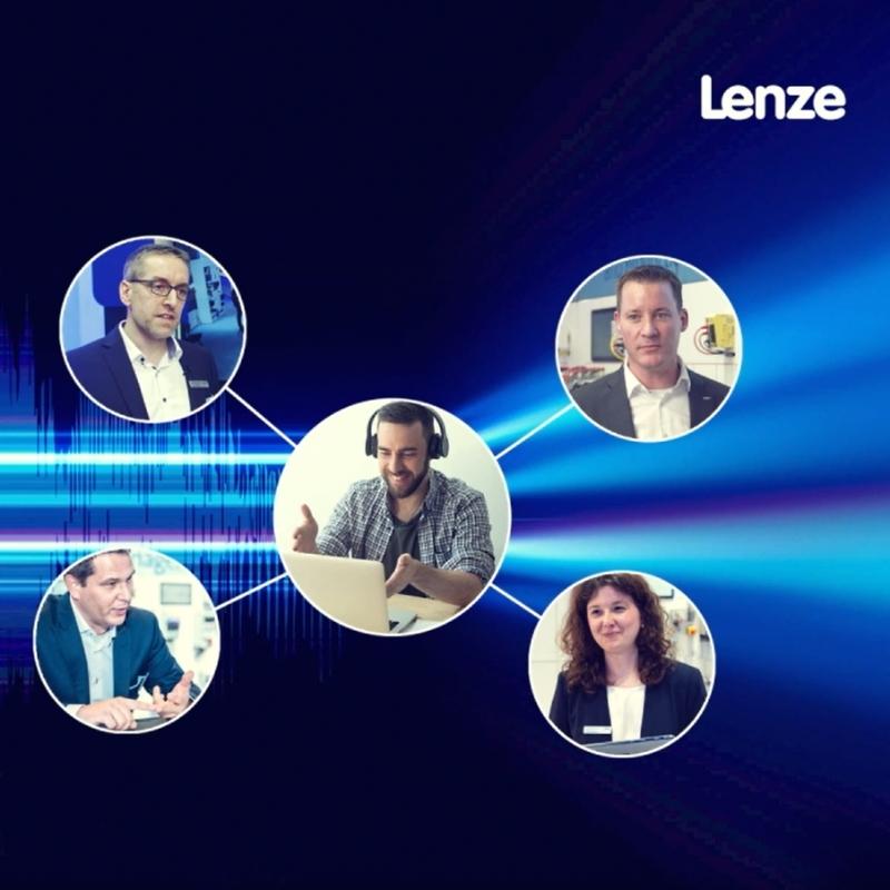 Live webcast di Lenze sulla prossima frontiera dell'automazione digitale
