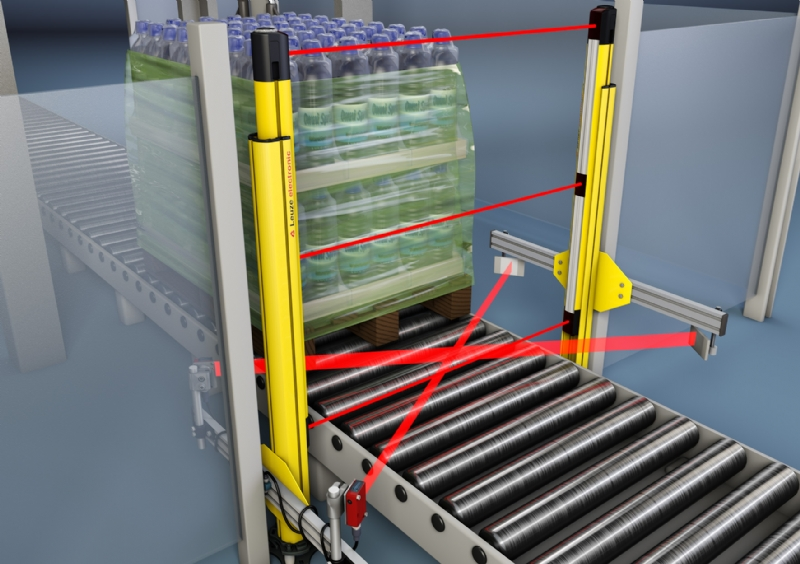 Barriere fotoelettriche multiraggio di sicurezza