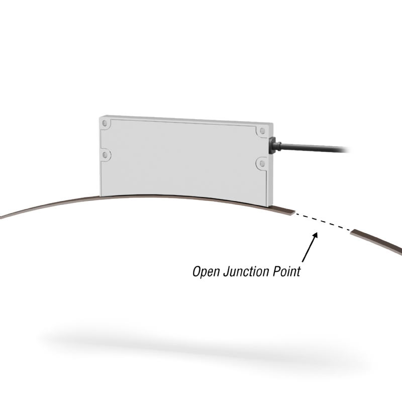 L'encoder flessibile per la misura di posizione su grandi alberi