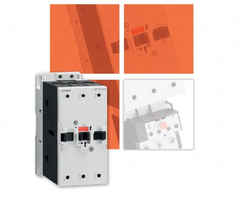 Nuovi contattori per correnti da 95 a 150A comando motore