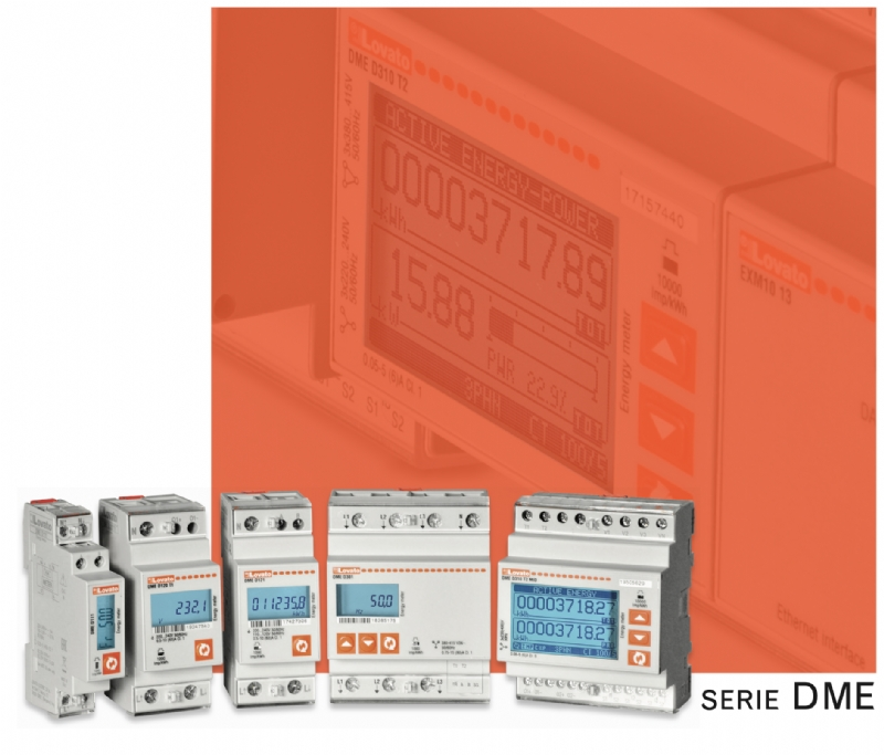 Contatori di energia - serie DME