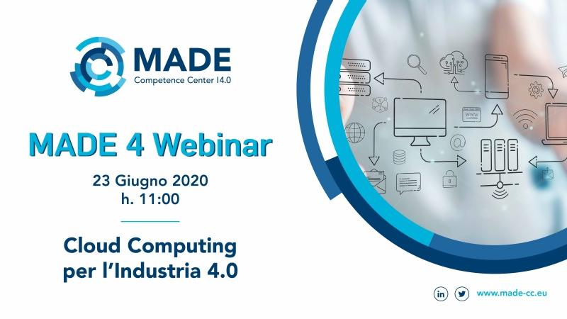Cloud Computing per l'Industria 4.0