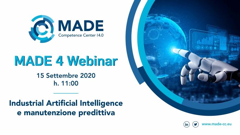 Industrial Artificial Intelligence e Manutenzione Predittiva