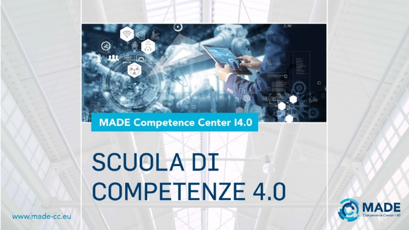 Scuola di Competenze 4.0 - MADE