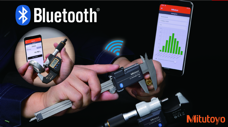 Sitstema di trasmissione dati Mitutoyo U-Wave Bluetooth