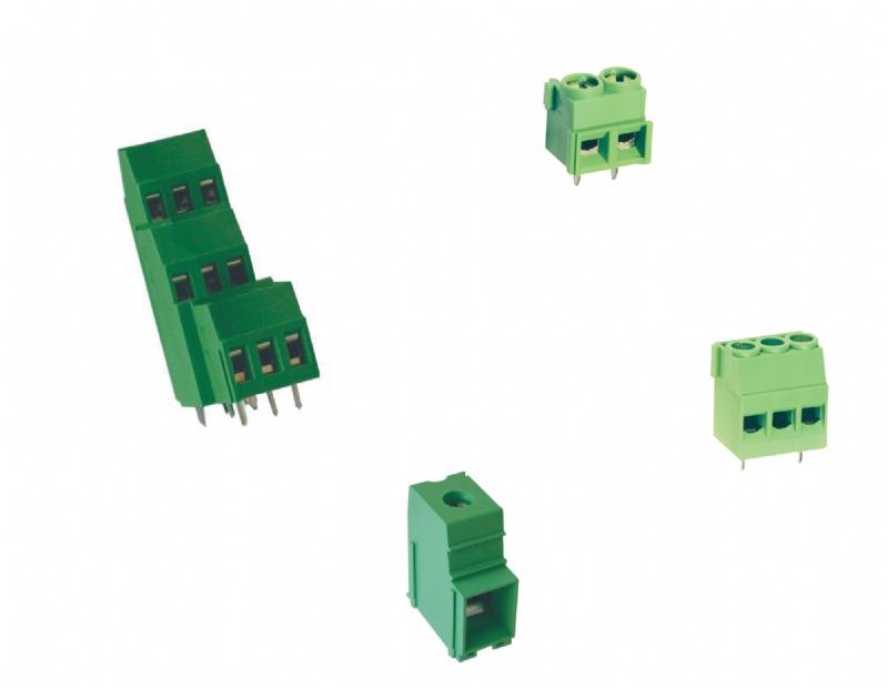 Morsettiere per circuito stampato con tecnologia a carrello