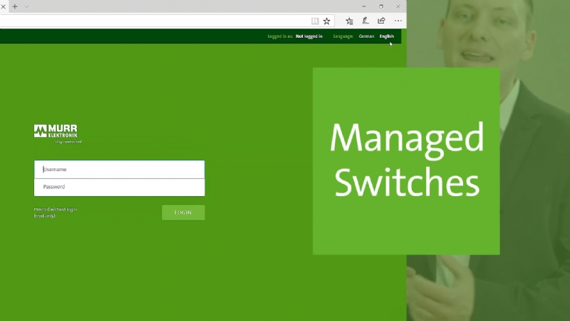 Switch Managed - Configurazione nel Web Server
