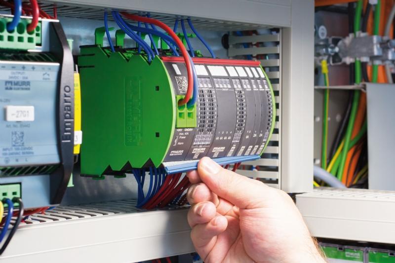 Sistema modulare di monitoraggio della corrente