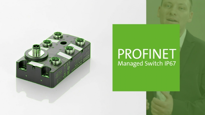 Gli Switch Managed Profinet - by Murrelektronik