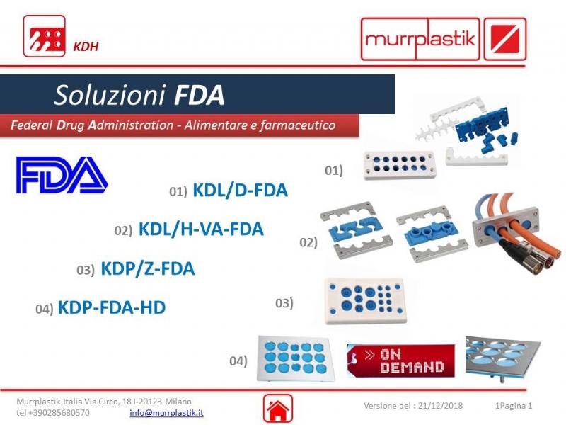 Murrplastik: sistemi per la gestione dei cavi in FDA
