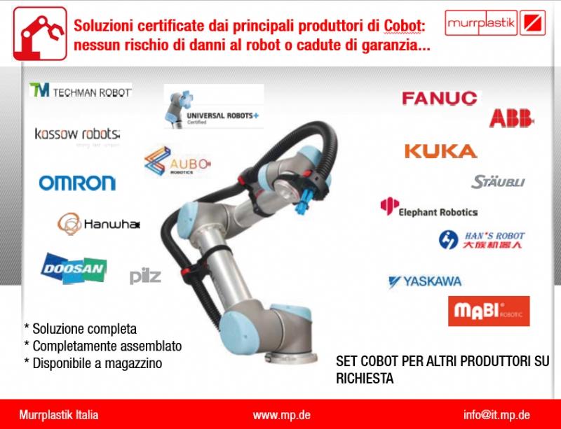 Soluzioni certificate: kit per l'allestimento dei Cobot