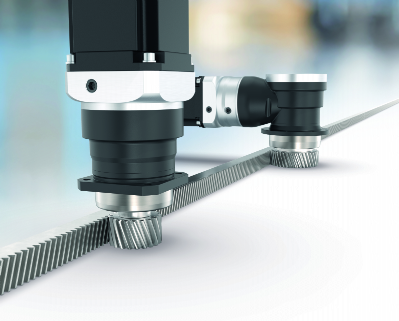 Planetary gearboxes with mounted pinion
