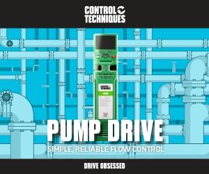 F600 il drive dedicato al settore pompe