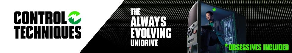 UNIDRIVE: LA SUA CONTINUA EVOLUZIONE