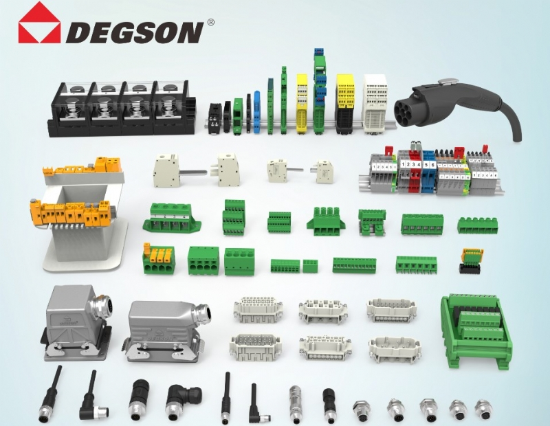 Terminal Blocks,Circular Conectors, Heavy duty and EV chargers