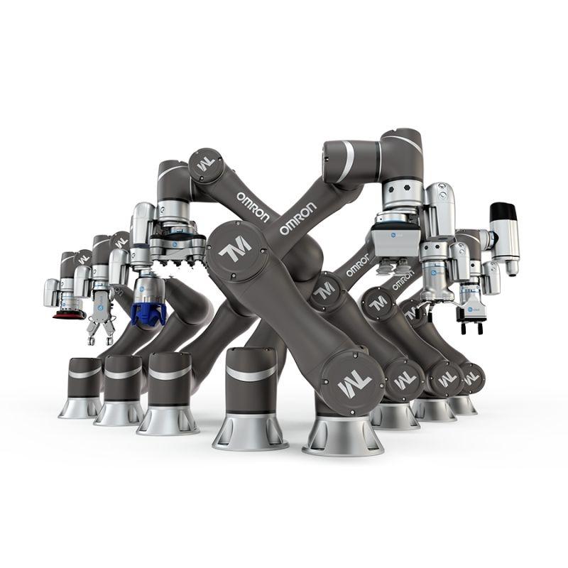 Omron cobot e applicazioni Plug&Produce.