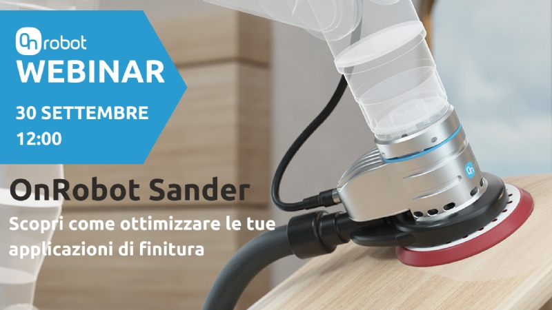 Nuovo Sander OnRobot