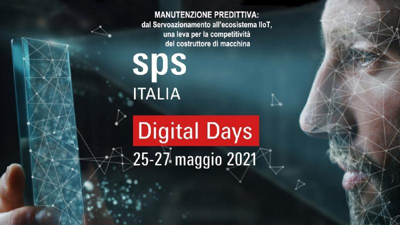 #Connect2Value Workshop Digital Days - MANUTENZIONE PREDITTIVA: dal Servoazionamento all'ecosistema IIoT, una leva per la competitività del costruttore di macchina