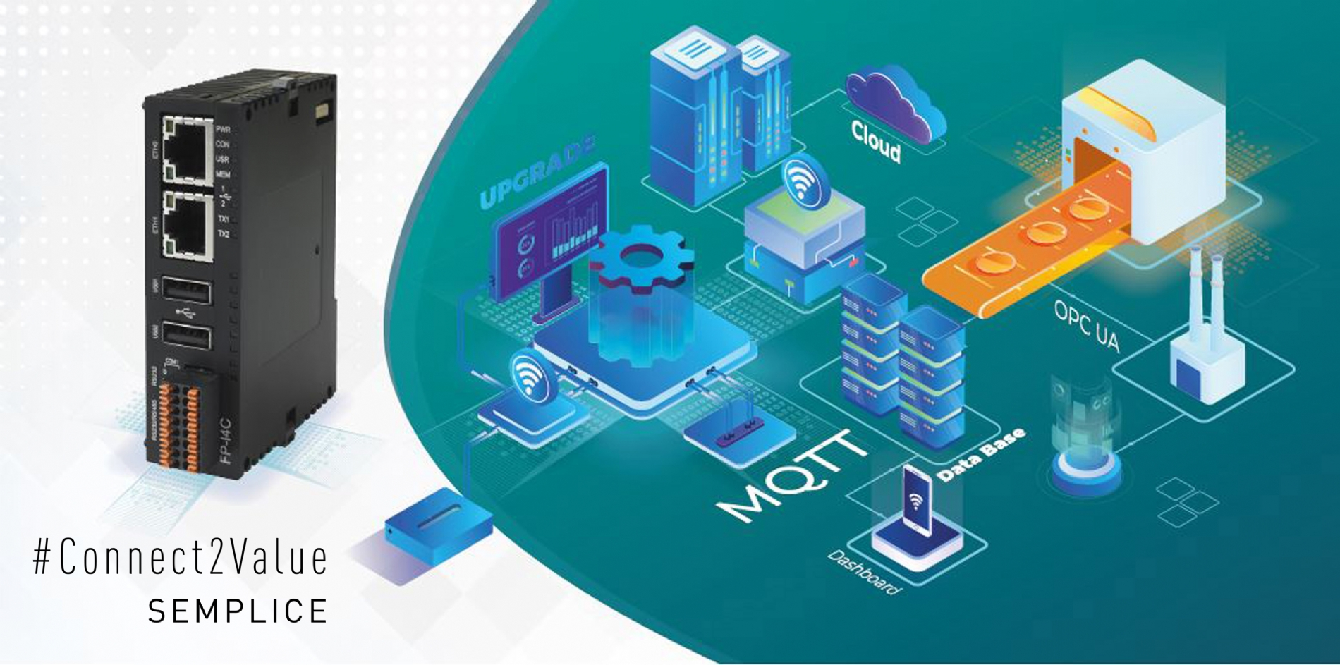 Workshop Connettività IIoT per OEM