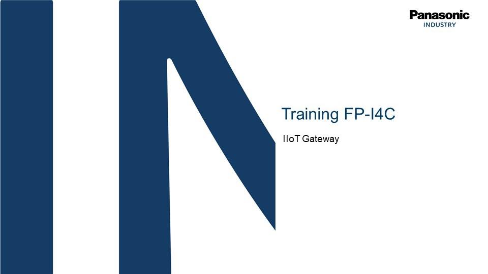 Introduzione tecnica all'IIoT Gateway FP-I4C
