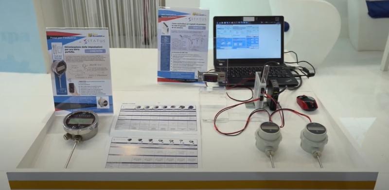 Convertitore STATUS SEM1720: Gestione della ridondanza di due sensori di temperatura
