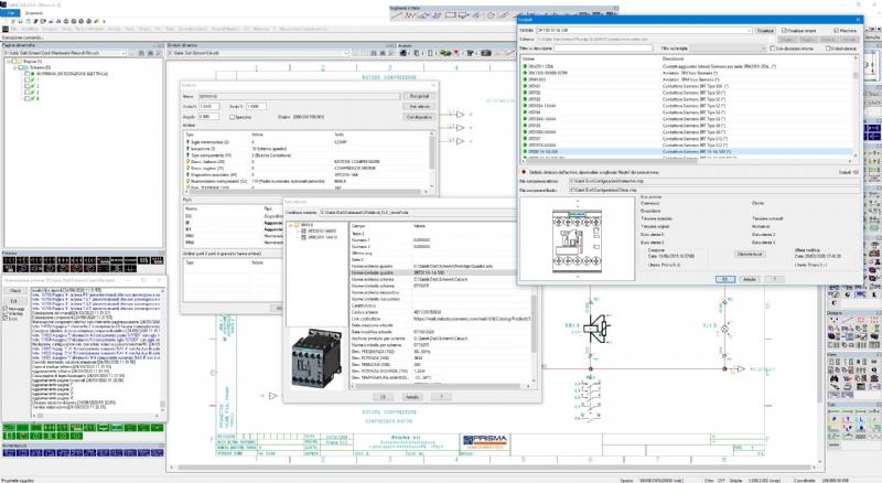 CAD elettrico Sabik: progettare schemi senza limiti