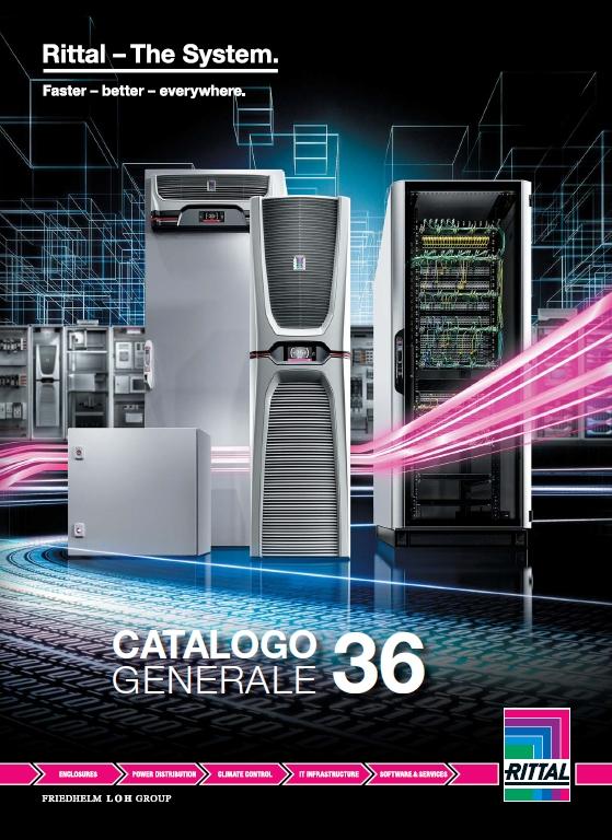 Il nuovo Catalogo 36 Rittal: nuovi prodotti, nuove opportunità