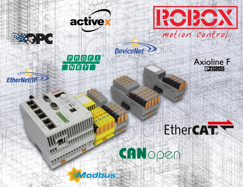 RP-2 Motion controller Master EtherCAT/CANopen  Master Axioline F